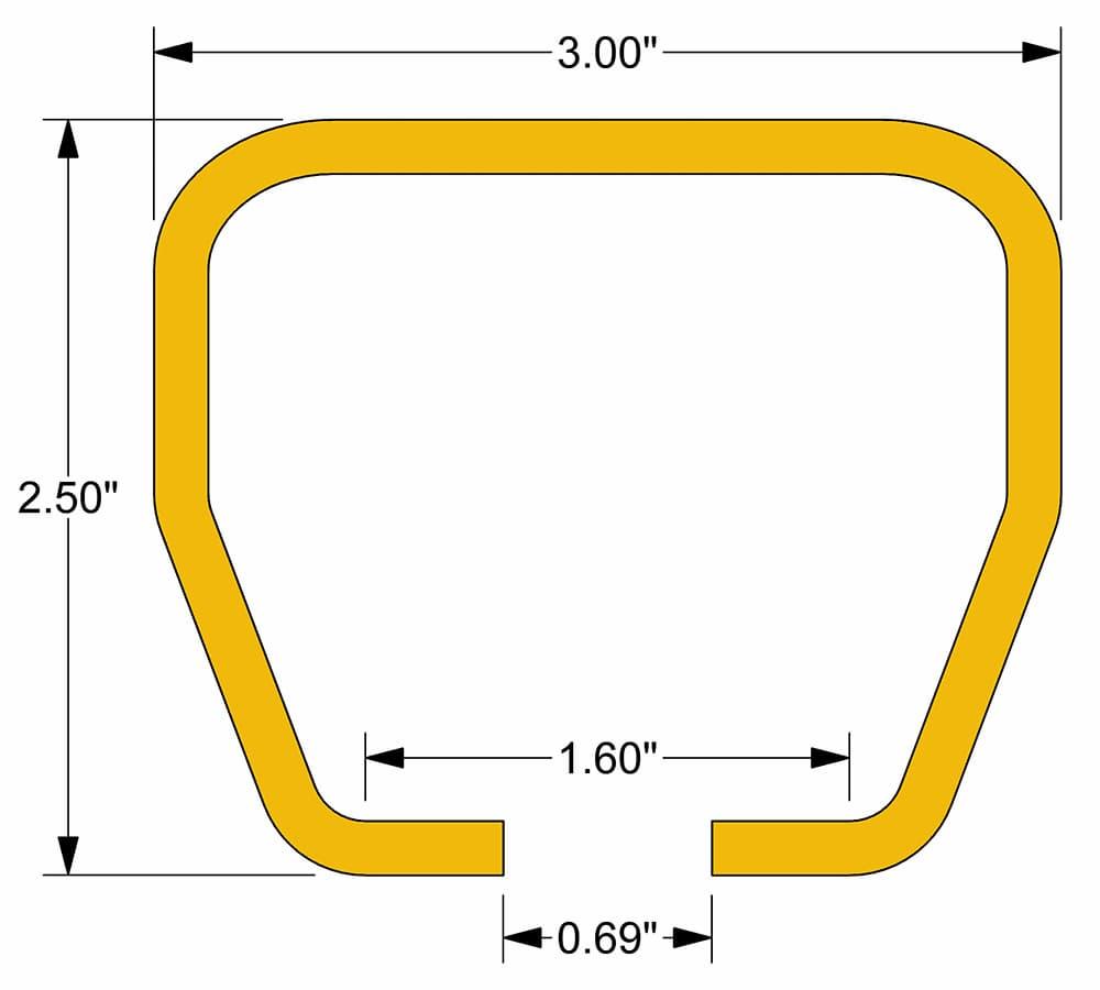 Starke 300 Series Track Dimensions