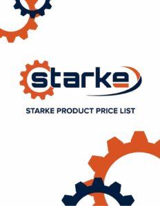 Starke Product Price List PDF